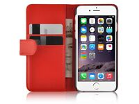 iPhone 5C Red Wallet Case (New)