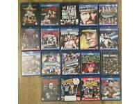 WWE Blu Rays