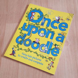 Once Upon a Doodle (Sketching & Colouring) (Paperback) by Andy Cooke