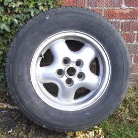 Landrover/Range Rover Alloy Wheels and Tyres