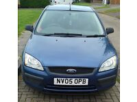 2005 Ford Focus 1.6 lx with 12 months MOT.