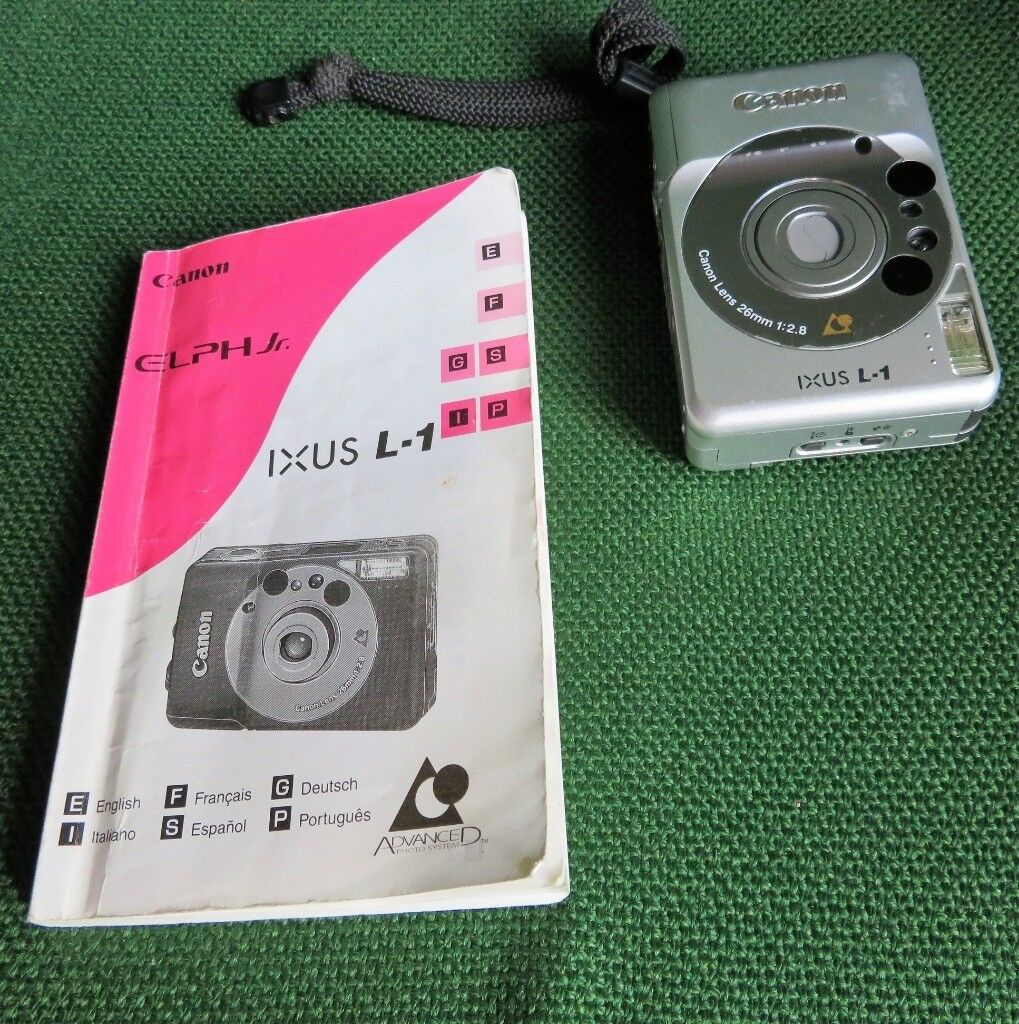 Canon Ixus L- 1 Camera