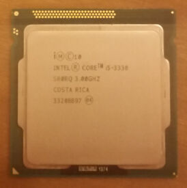 Intel i5-3330 3.00GHz Quad Core Processor