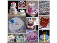 Bespoke made to order Celebtraion Cakes and Cupcakes