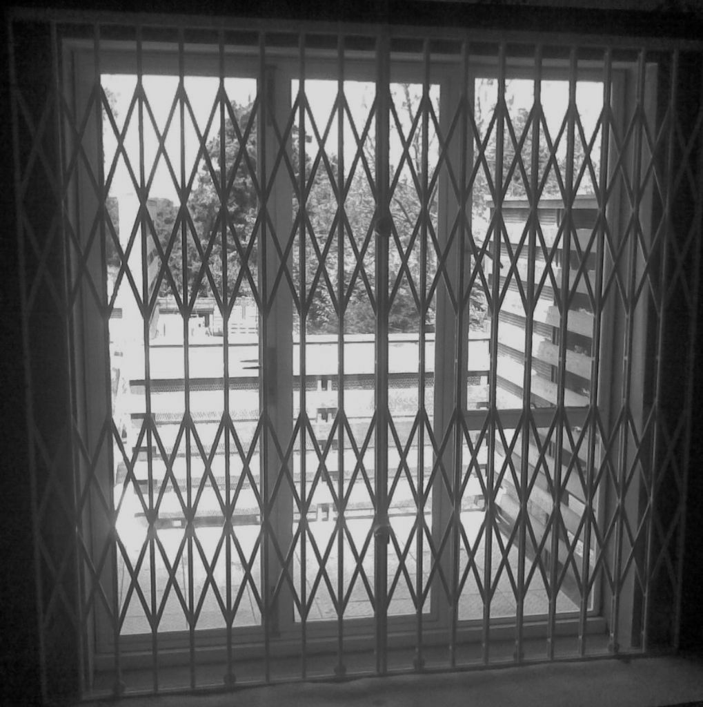 Window security grilles shutters bars locking door