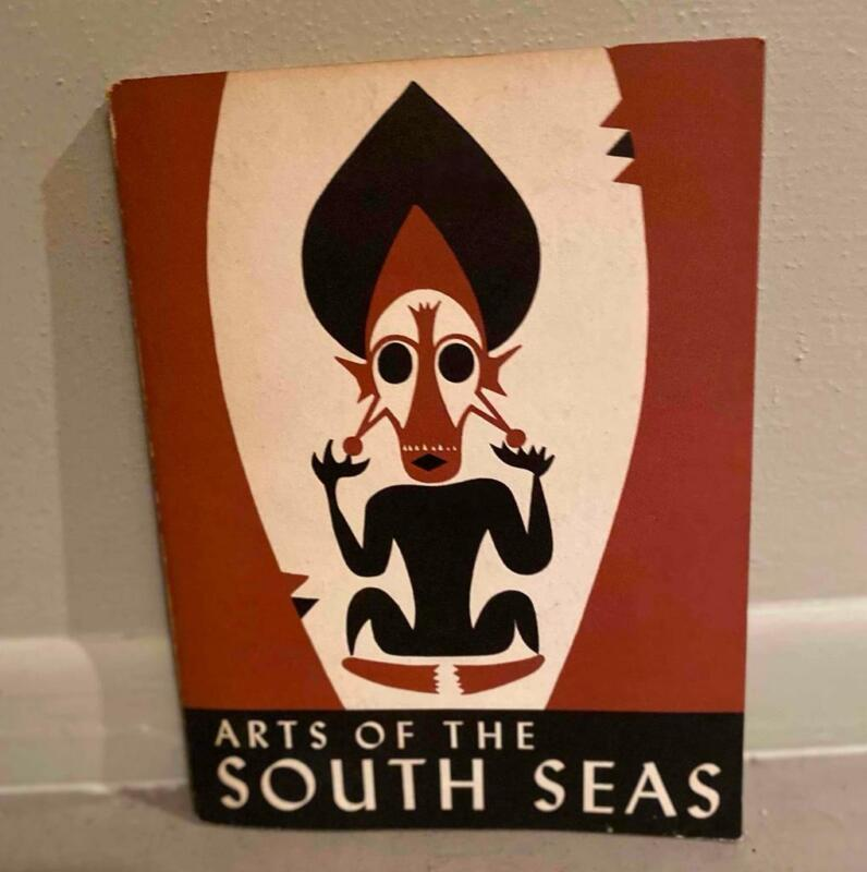 ARTS OF THE SOUTH SEAS 1946 SOFTCOVER BOOK COVARRUBIAS ILLUSTRATIONS