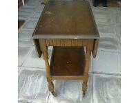 VINTAGE TROLLY LEAF TABLE