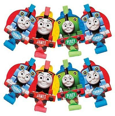 Thomas the Tank Party Favors Blow Outs 8 Per Package Birthday Supplies New