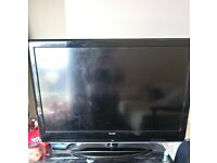 42 inch tv with freeview no remote