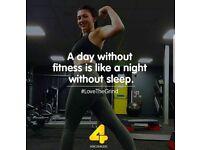 20% off gym membership