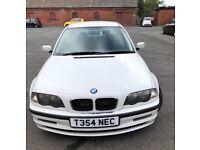 Quick sale bmw 318 I automatic ! White ! 5 door ! Nice condition ! 8 month mot ! Part ex swap £775