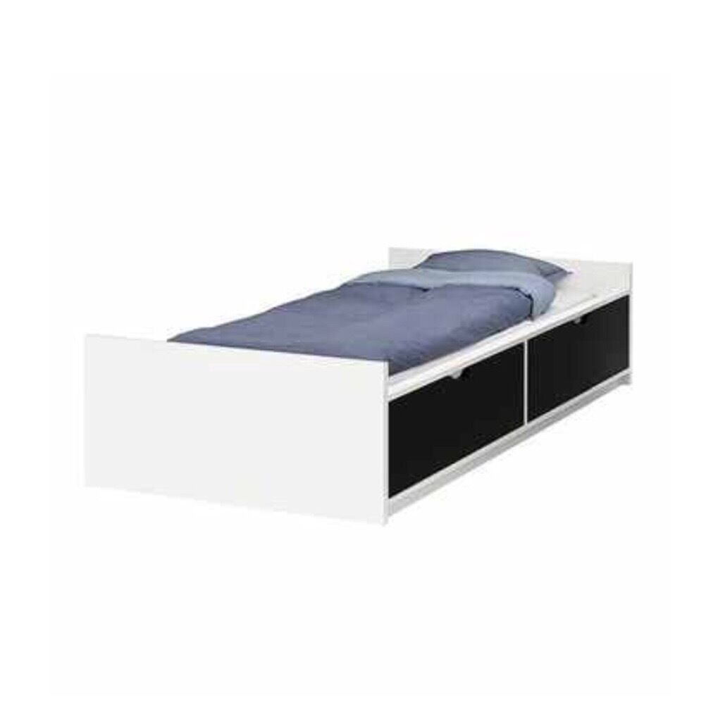Ikea Flaxa Single Bed With Storage And Base In Hitchin
