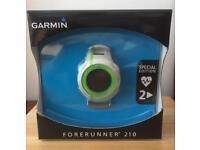 Garmin Forerunner 210 with HR monitor