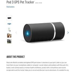 Pod 3 Gps tracker