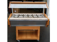 Blizzard GB3-HOT buffet display (in very good condition £500)