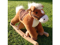 Childs toddlers rocking horse