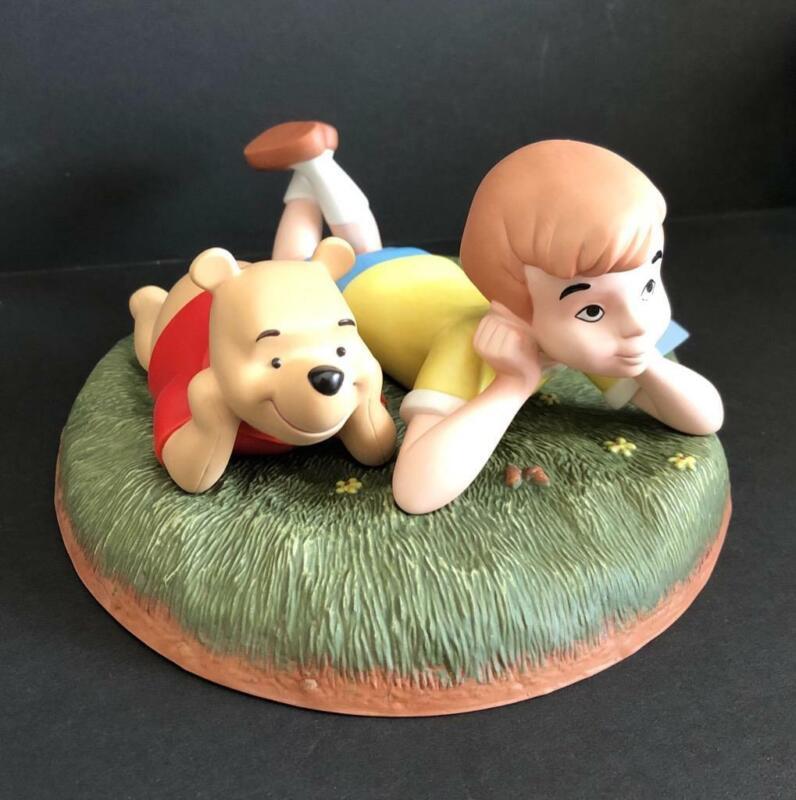 Disney Winnie The Pooh & Friends Christopher Robin & Pooh Vintage 1999 Figurine
