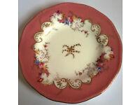 antique coalport plate