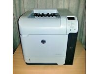 HP LaserJet Enterprise 600 Printer M601n - Toner & Leads