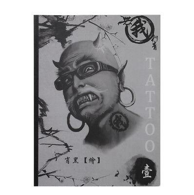 100 Pages A4 Mixed Skull Devil Design Tattoo Art Book Flash Sketch Supplies](Art Supplies Cheap)