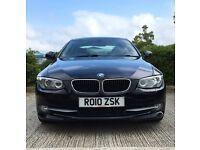 BMW 3 Series 320d SE 2dr Coupe Manual Xenon Lights - Black & Black