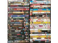 DVD collection of 50 various films