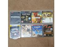 PS3 Games Bundle - Heavy Rain, Max Payne, Killzone, Metal Gear Solid + more