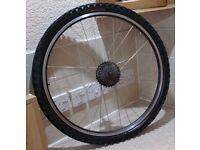 "26"" Inch Rear Bike Wheel with Tube and Tyre"