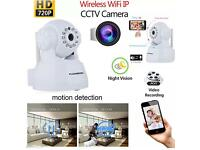 HD 720P Wireless WiFi Camera Home Shop Security Network CCTV IR Night Vision