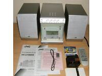 JVC UX-A70 MDR Compact Stereo System boxed with discs & manual