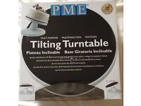 PME tilting turntable for cake decorating BRAND NEW, UN-OPENED