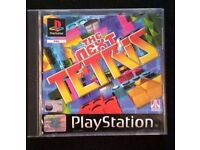 Playstation 1 / PS1 - The Next Tetris PS1