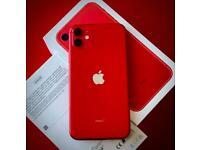 iPhone 11 (64GB - Unlocked) red