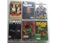 Classic Rare West Coast Rap tapes - £10 Each
