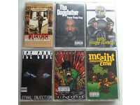 CLEARANCE - Rare West Coast Rap / Hip-Hop tapes - £7 Each [Free 1st class postage across UK]
