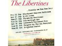 2 x Libertines tickets - Hull (Standing)