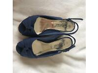 Size 6 wedge sandals (woman's)