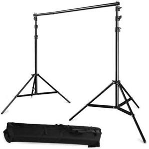 2.6X3M Photo Lighting background Frame/ Photo Lighting Backdrop Support System Kit - Ship Across Canada