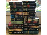 SELECTION OF USED WILBUR SMITH BOOKS FOR SALE