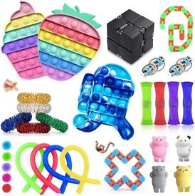 NEW Fidget Pack, 30 Pack Fidget Toy Set for Kids Adults, Sensory Anxiety Relief Stress Toys