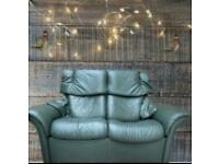 Ekornes stressless manual reclining sofa