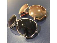 2 pairs of sunglasses by Tahari.