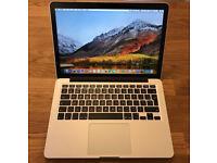 """MacBook Pro 13"""" Retina Late 2013 - i7, 8GB RAM, 512GB"""