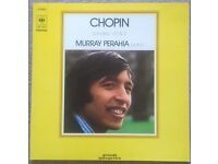 Chopin - Murray Perahia ‎– Sonates N° 2 & 3 Classical LP Vinyl Record, Gatefold - 1974