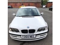 Bargain sale BMW 318 i ! Automatic ! Special edition ! White colour ! 5 door ! 7 month mot ! Swap px