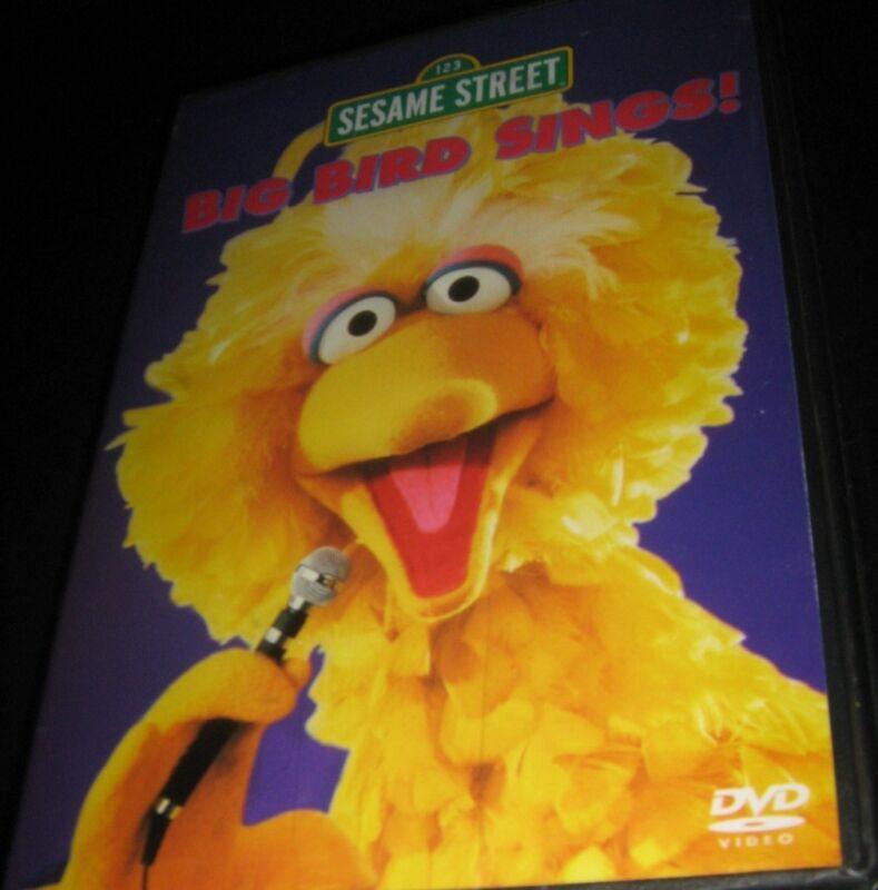 2003 SESAME STREET - BIG BIRD SINGS ORIGINAL All region PHILIPPINES DVD SEALED
