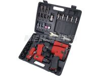 33 Piece Air Tool Kit - ratchet impact wrench grinder sockets