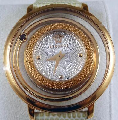 Stunning Versace Venus Watch VQV06 Leather Band W/ Original Box NICE!