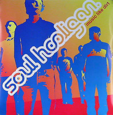 Soul Hooligans 2002 Music Like Dirt Original Promo Poster Double Sided