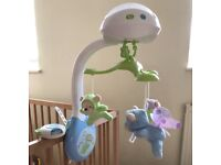 FisherPrice 3-in-1 Projection Cot Mobile